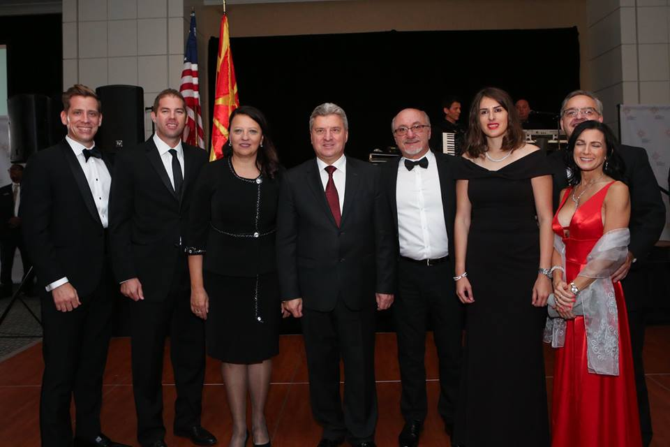 Detroit 2018 Gala Dinner with the Macedonian President he is included in the pic