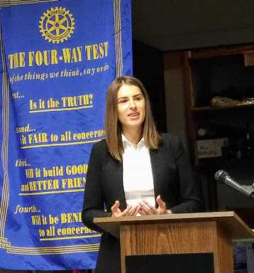 Speech at the Ada Rotary Club 2018